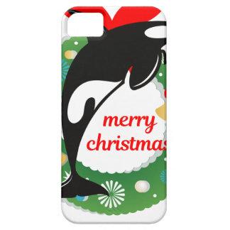 Coques Case-Mate iPhone 5 épaulard de Joyeux Noël