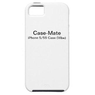 Coques Case-Mate iPhone 5 Faites votre propre cas de l'iPhone 5 (le Vibe)