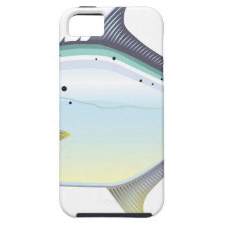 Coques Case-Mate iPhone 5 Illustration de vecteur de poissons de la Floride