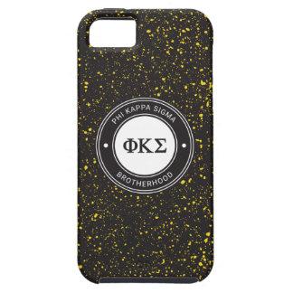 Coques Case-Mate iPhone 5 Insigne du sigma | de Kappa de phi