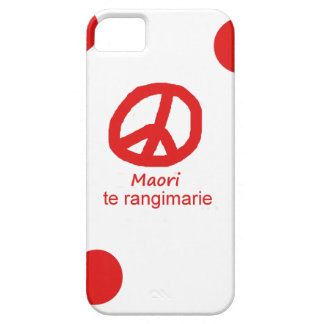 Coques Case-Mate iPhone 5 Langue et conception maories de symbole de paix