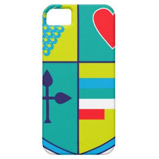 Coques Case-Mate iPhone 5 Manteau des raisins de bras et de bouclier de