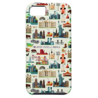 Coques Case-Mate iPhone 5 Motif de symboles des Etats-Unis