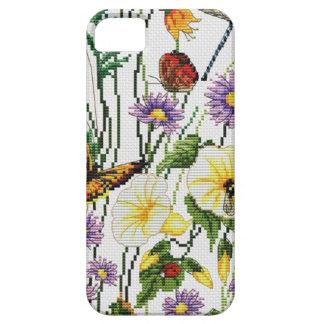 Coques Case-Mate iPhone 5 Téléphone brodé   floral 5/5S, à peine là