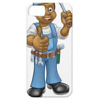 Coques Case-Mate iPhone 5 Tournevis noir de bricoleur d'électricien de bande
