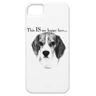 Coques Case-Mate iPhone 5 Visage heureux de beagle
