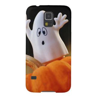Coques Galaxy S5 Citrouille et fantôme - fantôme drôle - citrouille