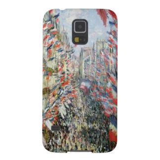 Coques Galaxy S5 Claude Monet | la rue Montorgueil, Paris