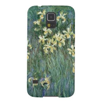 Coques Galaxy S5 Claude Monet | les iris jaunes