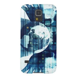 Coques Galaxy S5 Monde de Digitals et industrie de mode de vie de