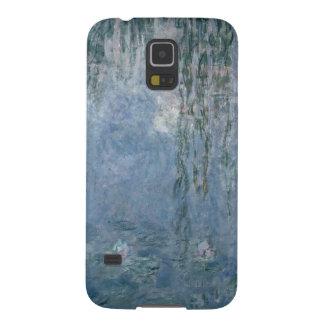 Coques Galaxy S5 Nénuphars de Claude Monet | : Saules pleurants,