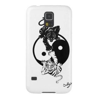 Coques Galaxy S5 Ying yang tiger