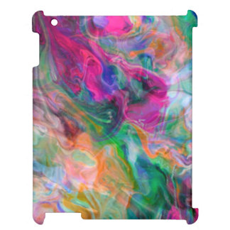 Coques iPad Cas génial psychédélique de couleur liquide