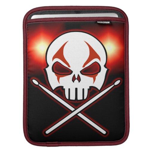 Coques ipad de métal lourd de douille d'iPad de ro Poches Pour iPad