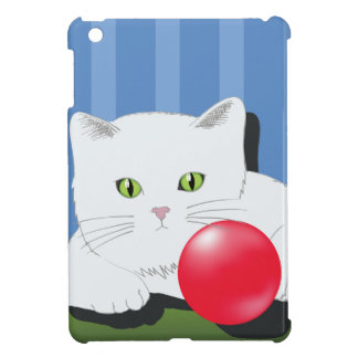 Coques iPad Mini 63White Cat_rasterized