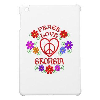 Coques iPad Mini Amour la Géorgie de paix