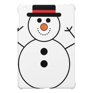 Coques iPad Mini Bande dessinée de bonhomme de neige