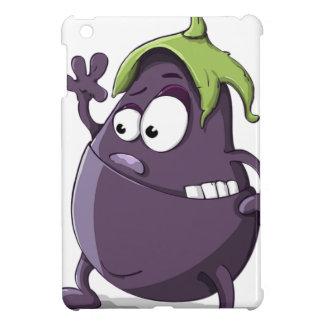 Coques iPad Mini Bande dessinée Toothy observée par légume pourpre