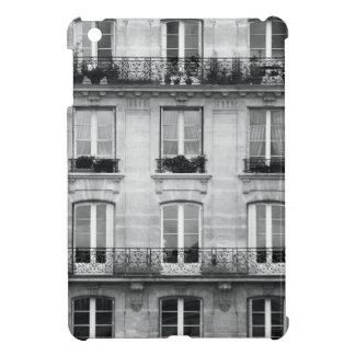 Coques iPad Mini Bâtiment vintage noir et blanc du voyage | à Paris