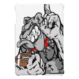 Coques iPad Mini bouledogue du football