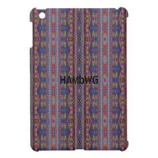 Coques iPad Mini Cas   dur brillant de HAMbyWG - regard de hippie