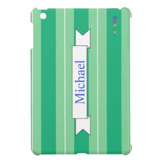 Coques iPad Mini Cas dur brillant d'iPad de HAMbyWG mini - menthe