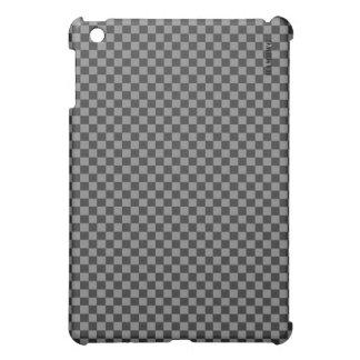 Coques iPad Mini Cas   dur de HAMbyWG - guingan noir gris