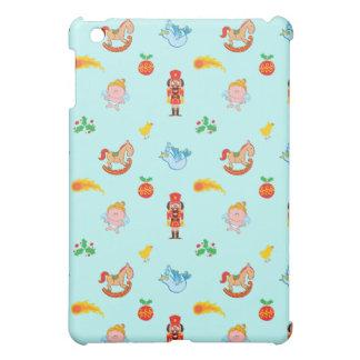 Coques iPad Mini Casse-noix, cheval, ange et motif de Noël d'oiseau