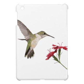 Coques iPad Mini Colibri et fleur