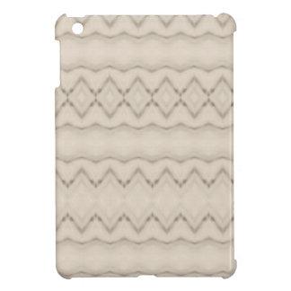 Coques iPad Mini Conception tribale de motif de zigzag de plume