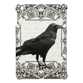 Coques iPad Mini Corbeau vintage de Halloween