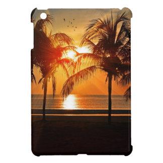 Coques iPad Mini Coucher du soleil tropical