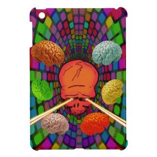 Coques iPad Mini Crâne psychédélique