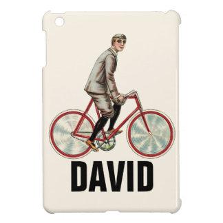 Coques iPad Mini Cycliste vintage/rétro Personnalised