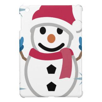 Coques iPad Mini Dessin de bonhomme de neige