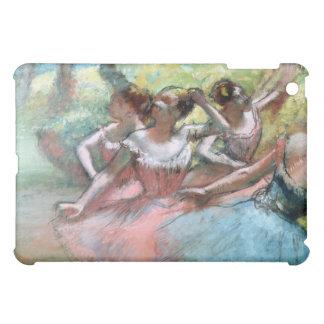 Coques iPad Mini Edgar Degas | quatre ballerines sur l'étape