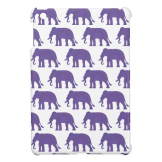 Coques iPad Mini Éléphants pourpres