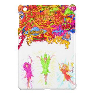 Coques iPad Mini Fées de paix, d'amour et de bonheur