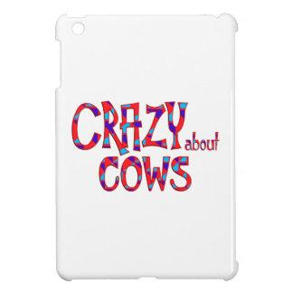 Coques iPad Mini Fou au sujet des vaches