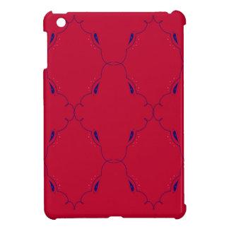 Coques iPad Mini Gens bleus rouges d'éléments de conception
