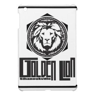 Coques iPad Mini golden lion