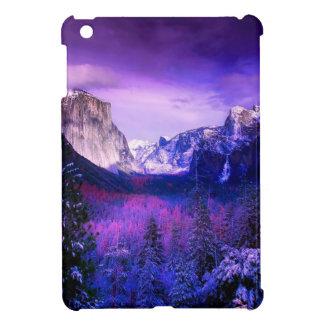 Coques iPad Mini Horizon de pourpre de parc national de Yosemite