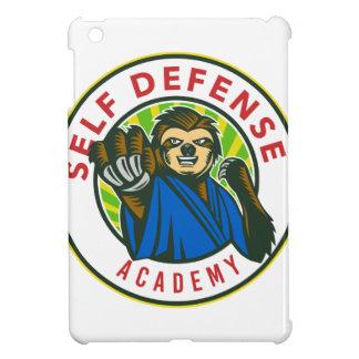 Coques iPad Mini Insigne d'autodéfense de karaté de paresse