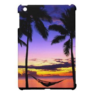 Coques iPad Mini iPad (de coucher du soleil parfait de plage) mini