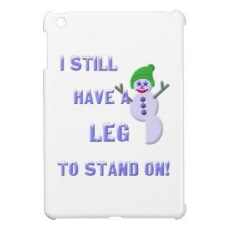 Coques iPad Mini Jambe à tenir dessus, bonhomme de neige 2