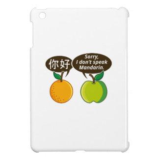 Coques iPad Mini Je ne parle pas la mandarine
