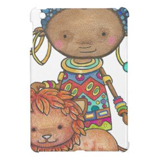 Coques iPad Mini Kana la princesse Africaine