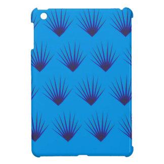Coques iPad Mini La conception laisse le bleu exotique