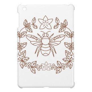 Coques iPad Mini La fleur de café de bourdon part de l'icône