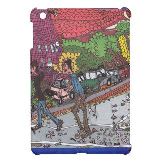 Coques iPad Mini La rue de Jill